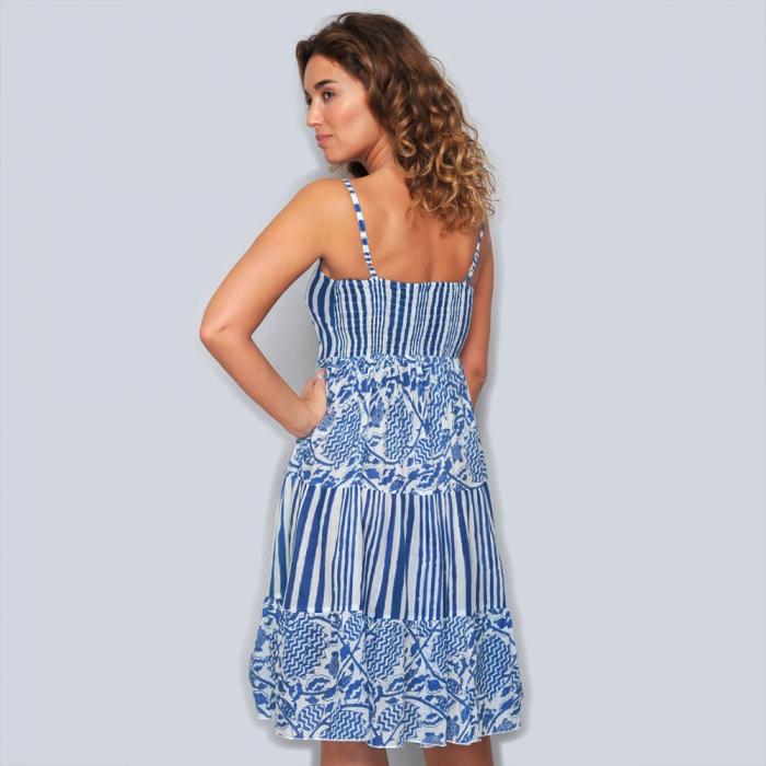 Rochie din bumbac - BLUE MARINE 2