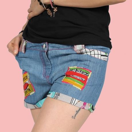 Pantaloni scurti - DENIM 0