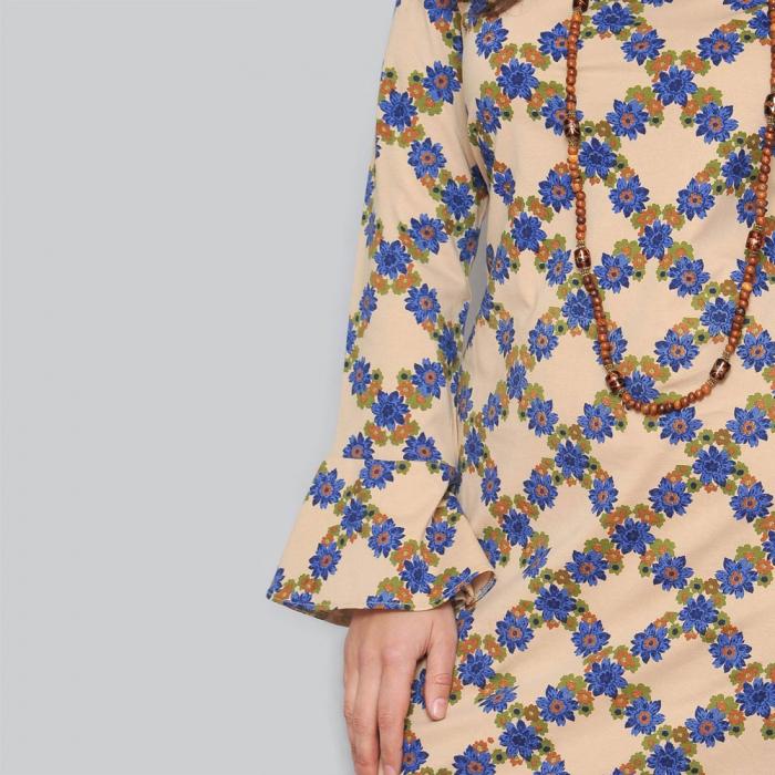 Rochie eleganta cu model floral [3]