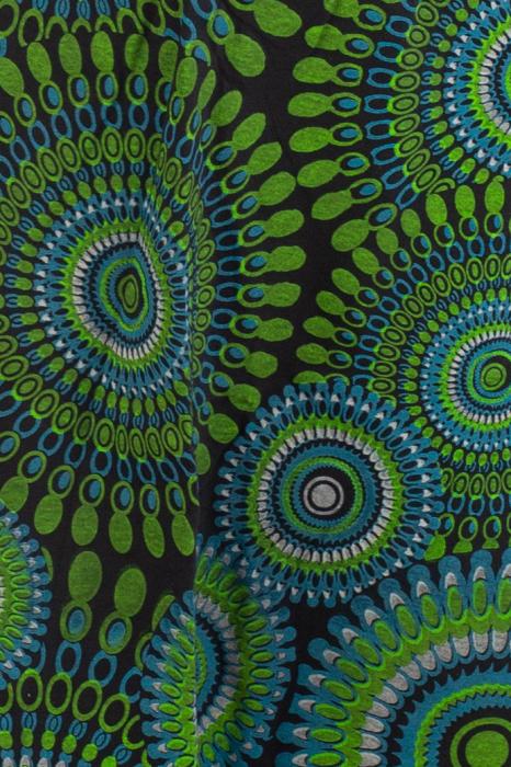 Fusta cu cercuri - Verde [2]