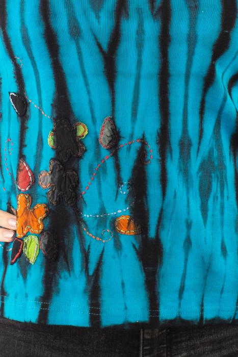 Bluza tip Tie Dye pentru femei 3
