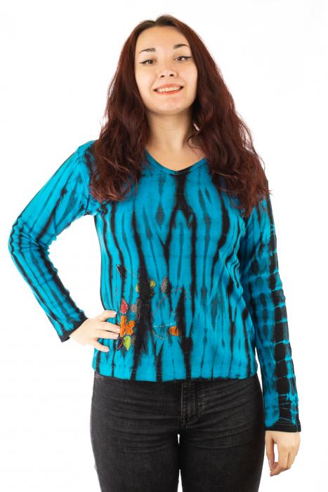 Bluza tip Tie Dye pentru femei 0