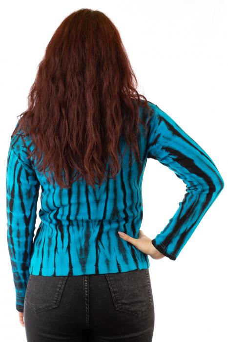 Bluza tip Tie Dye pentru femei 2