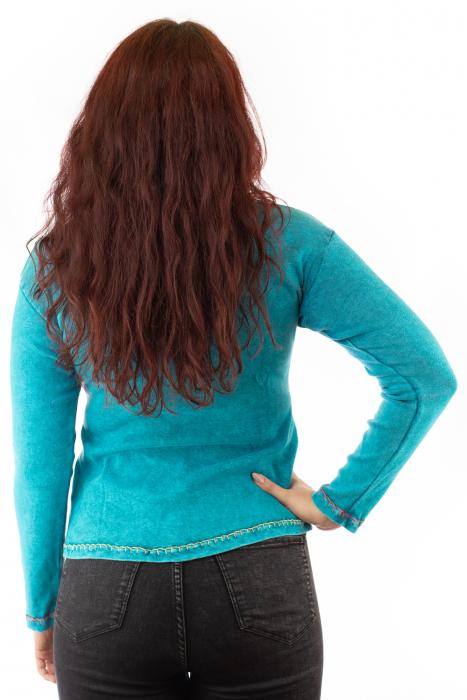 Bluza femei OM cu modele cusute 2