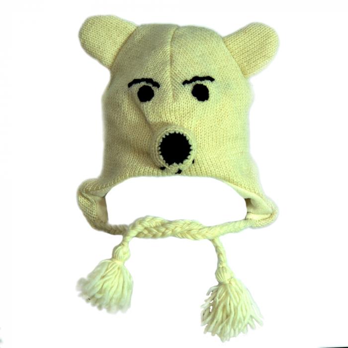 Căciula din lână urs - POLAR 0