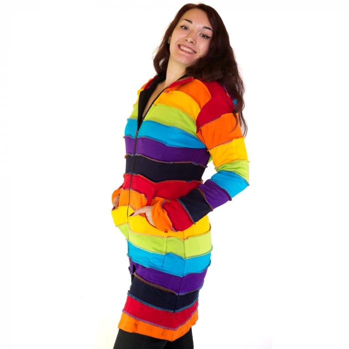 Jacheta casual femei – model curcubeu JRAIN 1