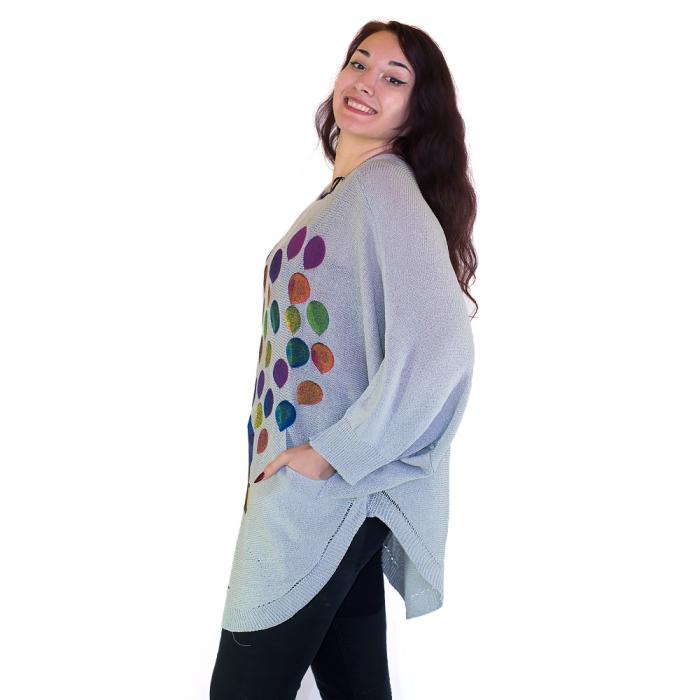 Cardigan femei – toamna multicolora 1