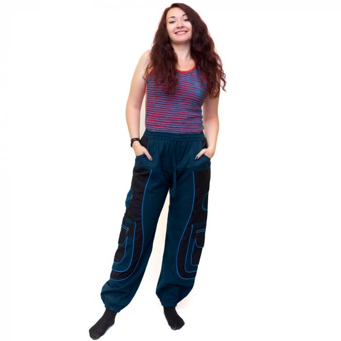 Pantaloni Blue Cargo NIN-HI1723 0