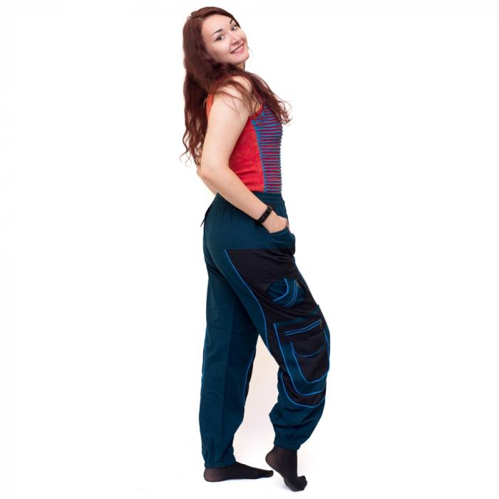 Pantaloni Blue Cargo NIN-HI1723 1