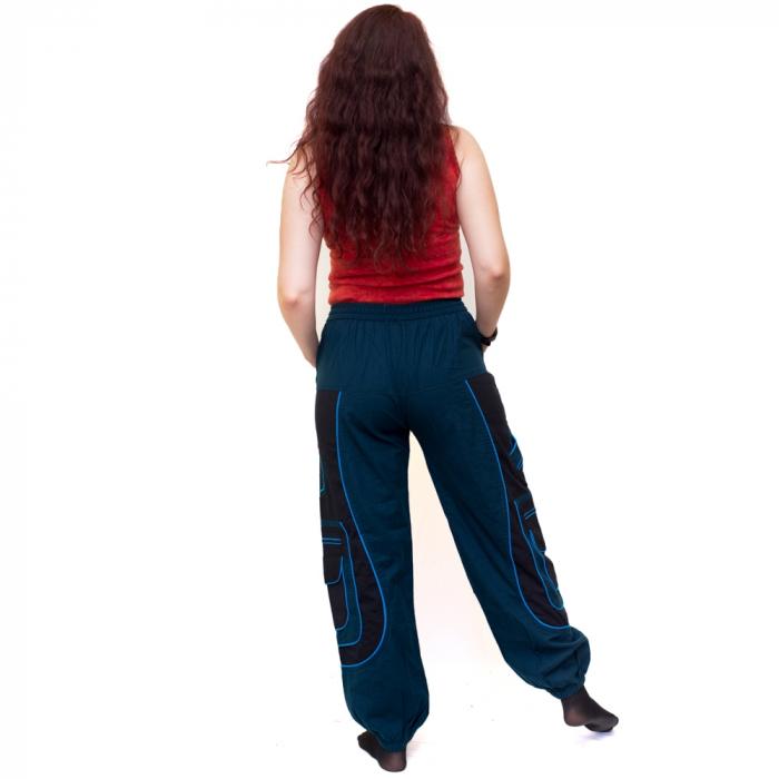 Pantaloni Blue Cargo NIN-HI1723 2