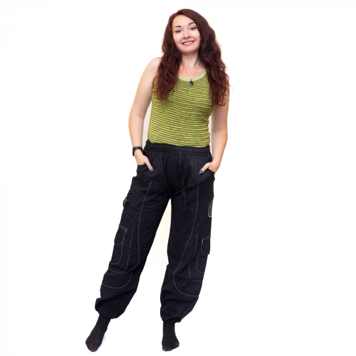Pantaloni Black Cargo NIN - HI 1723 0