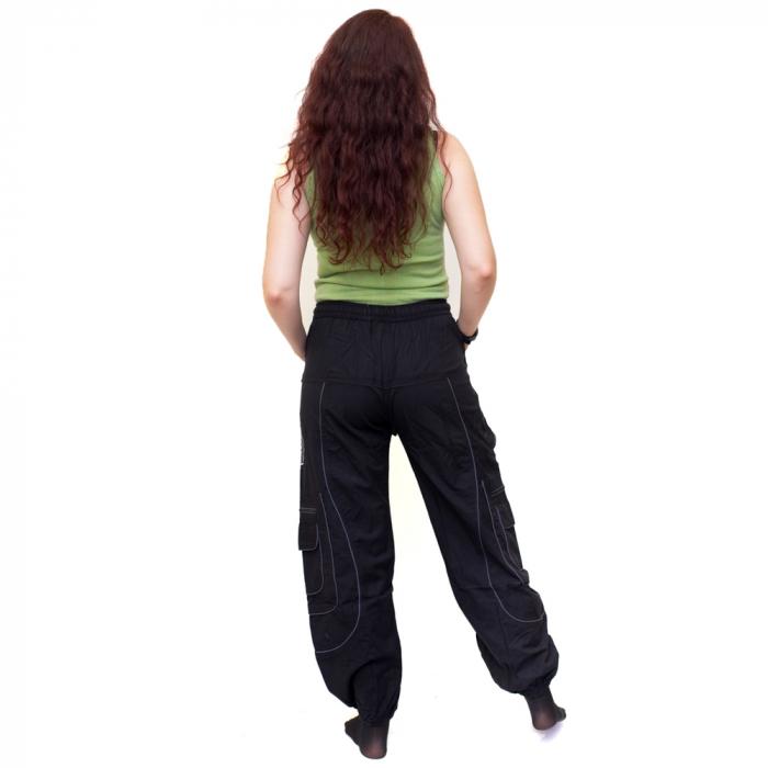 Pantaloni Black Cargo NIN - HI 1723 2