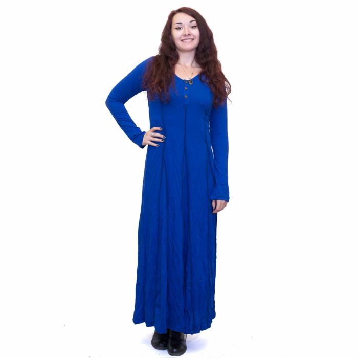 Rochie lunga albastra 0