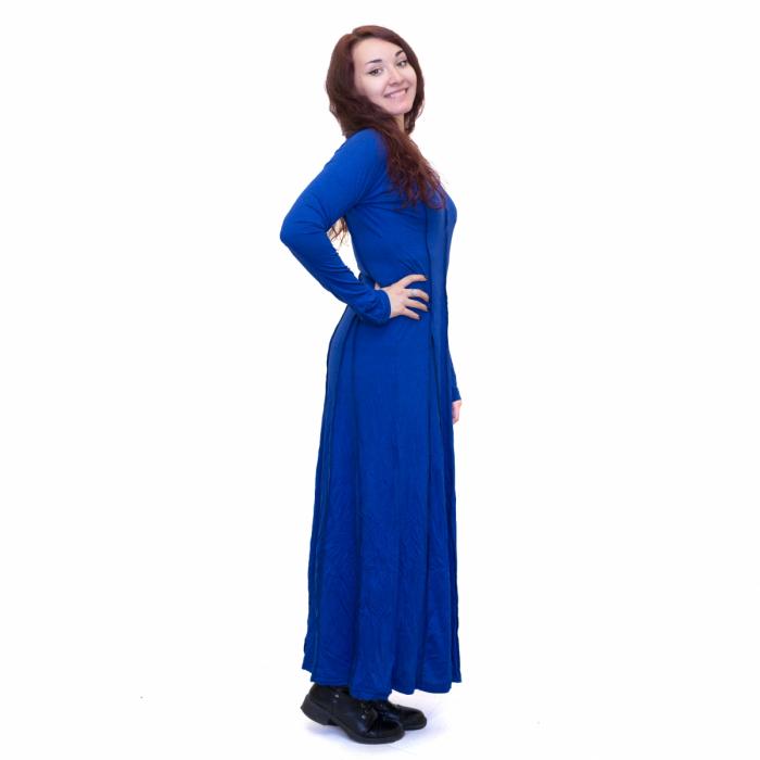 Rochie lunga albastra 1
