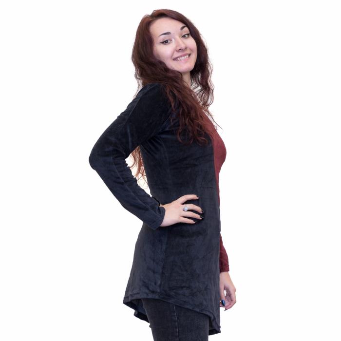 Bluza negru cu rosu 1