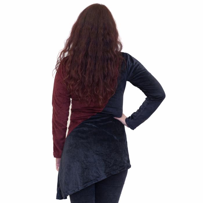 Bluza negru cu rosu 2