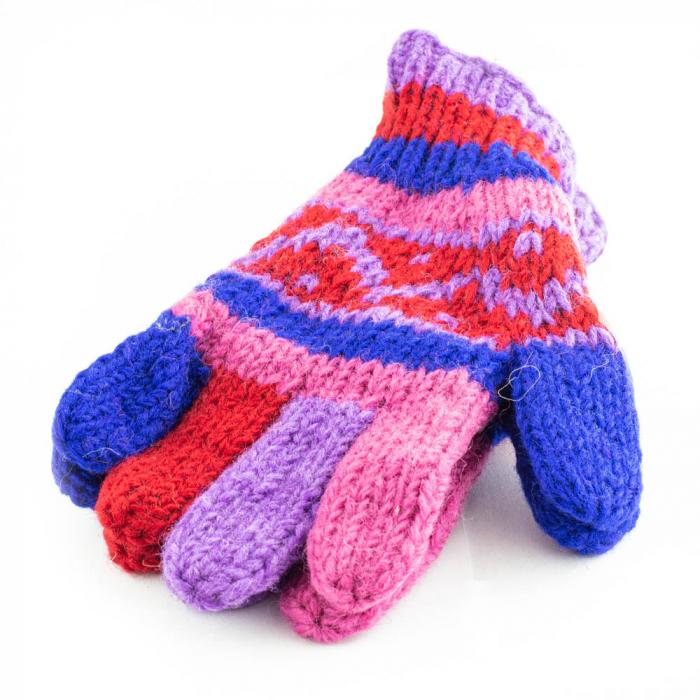 Manusi de lana - Color combo 17 0