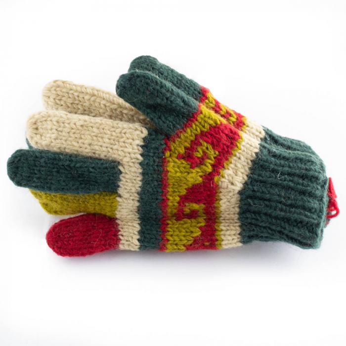 Manusi de lana - Color combo 11 0