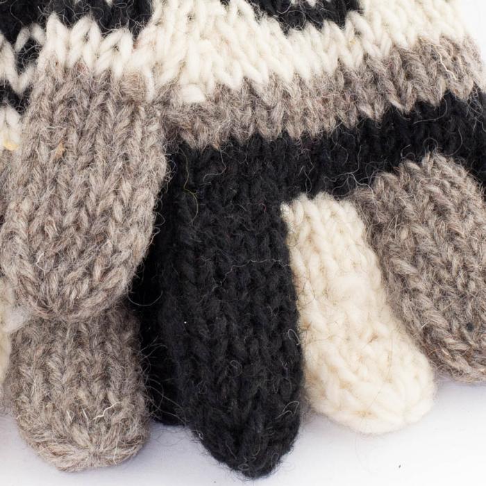 Manusi de lana - Dark tones 1