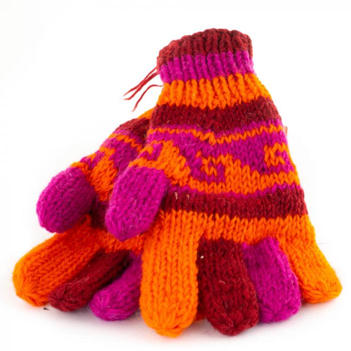Manusi de lana - Color combo 2 0