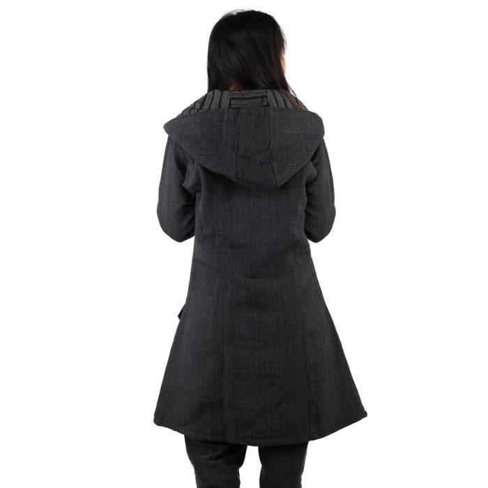 Jacheta din bumbac - GRI INCHIS 3