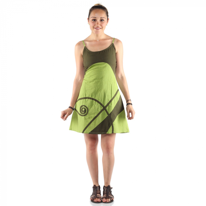 Rochie din bumbac - LIME 0