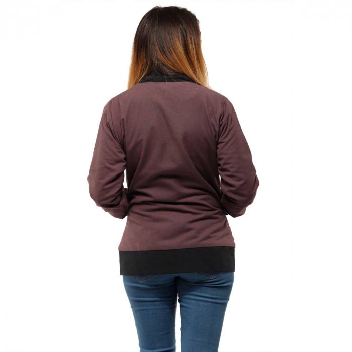 Jacheta scurta din bumbac - BRODERIE 3