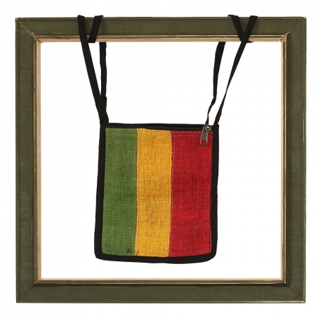 Rasta Passport bag, Red back 0