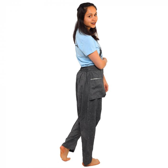 Pantaloni tip salvari - GREY 2