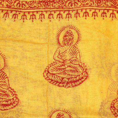 Esarfa din bumbac - Motive Tibetane 0