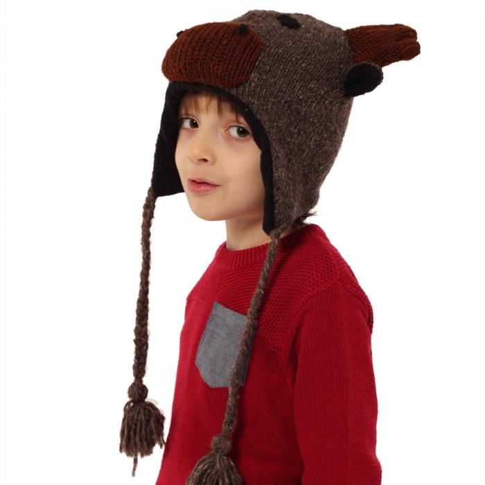 Căciula din lână copii - REN 1