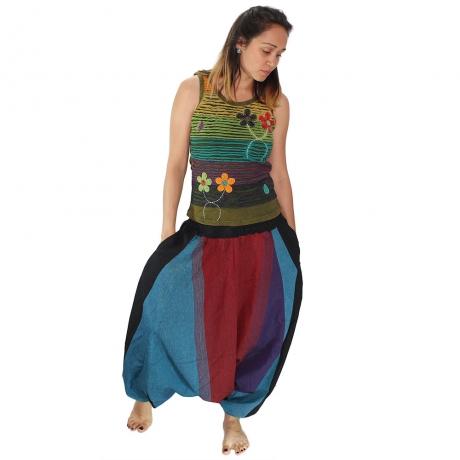 Salvari hippie – albastru si bordo 0