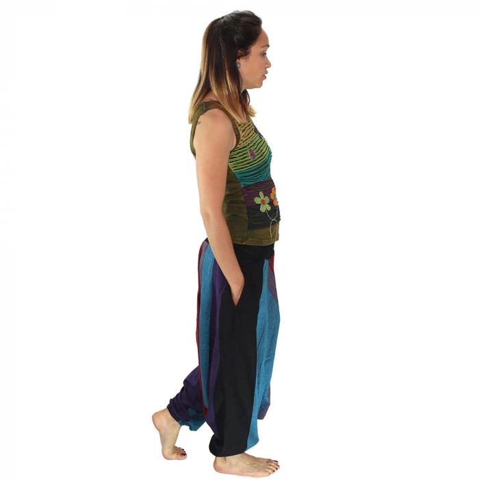 Salvari hippie – albastru si bordo 1