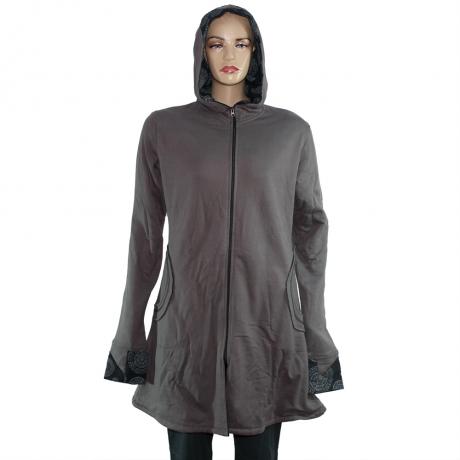 Jacheta de bumbac cu fermoar – GRI 0