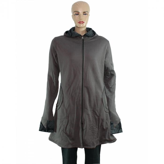 Jacheta de bumbac cu fermoar – GRI 1