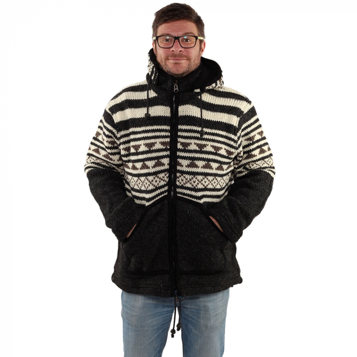 Jacheta din lana - ALASKA 0