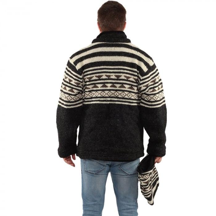 Jacheta din lana - ALASKA 3