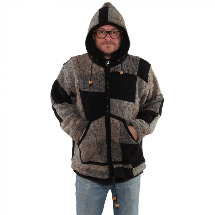 Jacheta din lana - PETICE 2 0