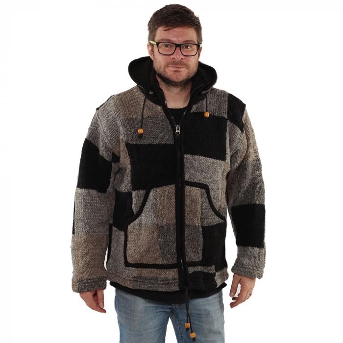 Jacheta din lana - PETICE 2 1