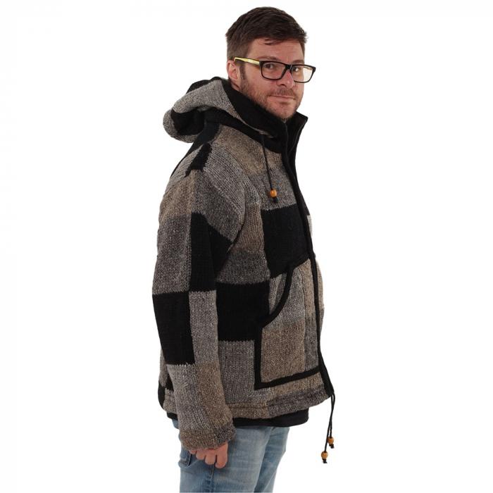Jacheta din lana - PETICE 2 2
