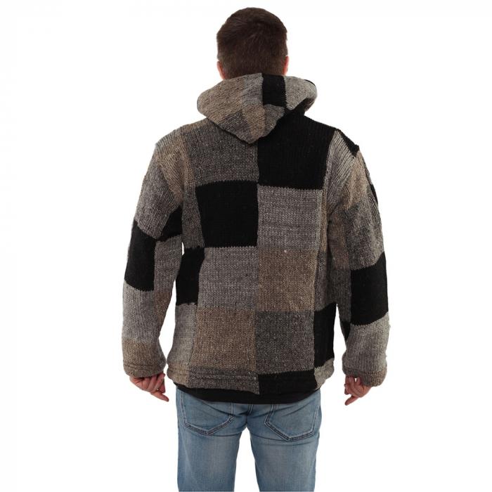 Jacheta din lana - PETICE 2 3