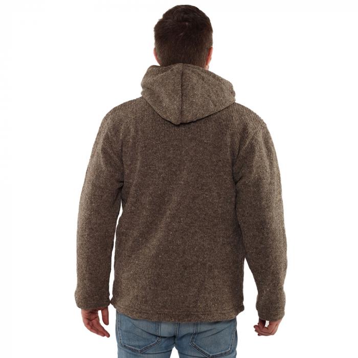 Jacheta din lana cu buzunare - GREY [2]