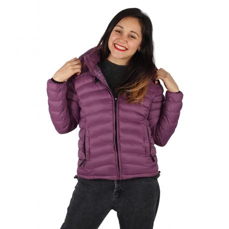 Jacheta cu puf – Violet 0