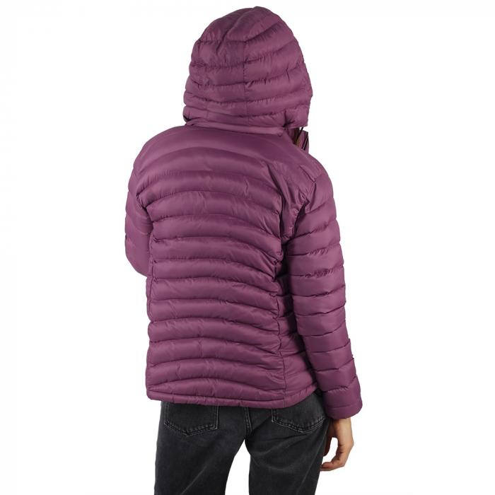 Jacheta cu puf – Violet 2