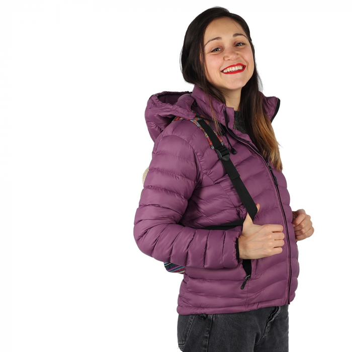 Jacheta cu puf – Violet 3