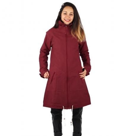 Jacheta din bumbac - BORDO 0