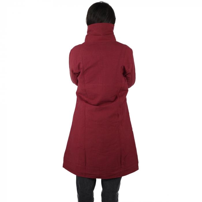 Jacheta din bumbac - BORDO 3