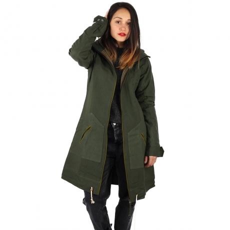 Jacheta din bumbac - VERDE 0