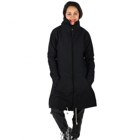 Jacheta din bumbac - NEGRU 0