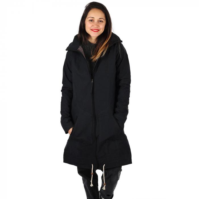 Jacheta din bumbac - NEGRU 1